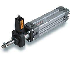 PRA/182040/M/160 ISO/VDMA Profilzylinder Ø40mm Hub160mm