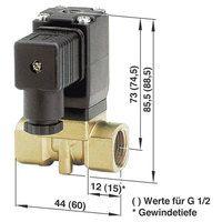 Busch Jost 8253000.8001.23050 2/2-way Solenoid Diaphragm Valve G1/4 230V AC